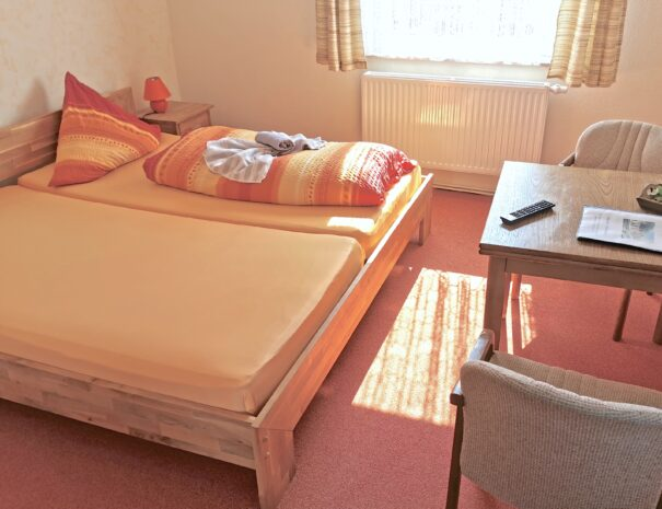 Einfaches Doppelzimmer